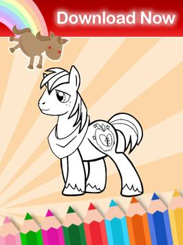 coloring book for little pony screenshot 9