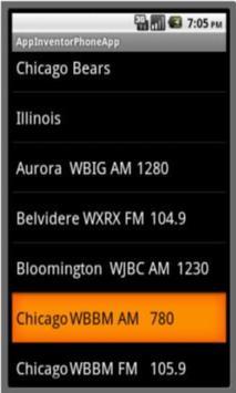 Bears Pro Football Radio screenshot 6