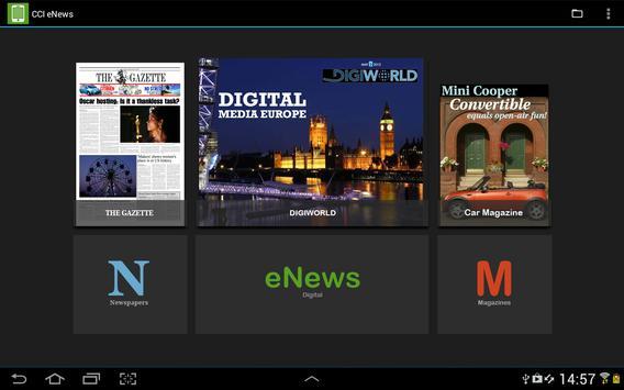 CCI eNews poster