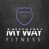 MyWay Fitness Orange icon