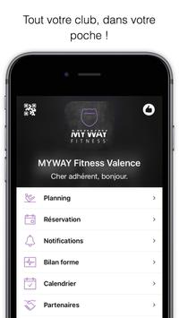 MyWay Fitness Orange poster