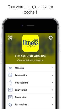 Fitness Club Chalons poster