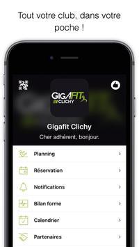 Gigafit Clichy poster
