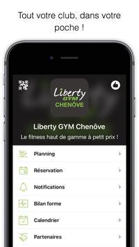 Liberty GYM Chenôve poster