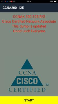 Free CCNA 200-125 Dumps poster