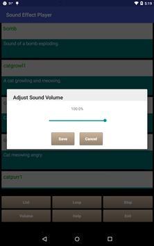 Sound Effect Player apk screenshot