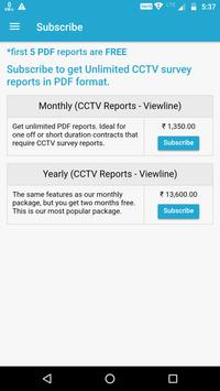 CCTV Reports - Viewline apk screenshot