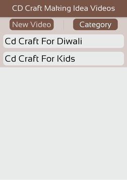 CD Craft Making Idea Videos apk screenshot