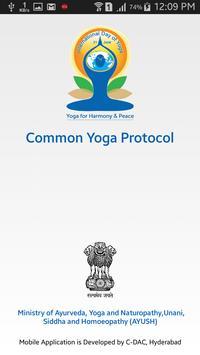 Common Yoga Protocol poster