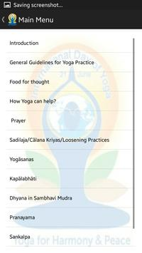 Common Yoga Protocol apk screenshot