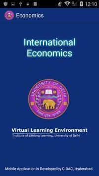International Economics poster