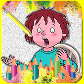 How To draw Horrid Henry icon