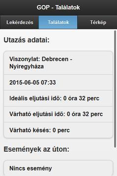VISUALTRAFFIC kliens screenshot 1