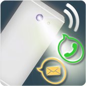 Flash on Call and SMS Alert icon