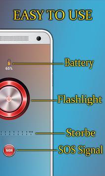 Flashlight Strobe: Blinking Flashlight apk screenshot