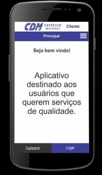 CDM Expresso - Cliente screenshot 4