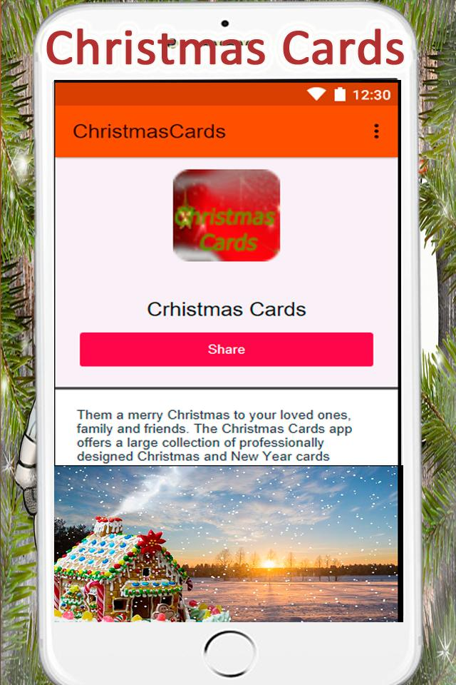 Christmas Cards poster