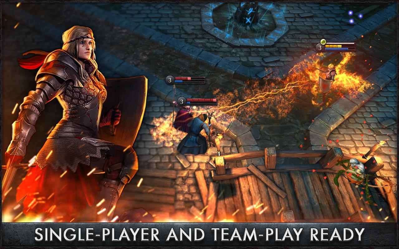 The Witcher Battle Arena apk screenshot