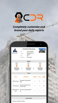 CDR Construction Daily Reports apk screenshot
