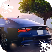 City Driving Audi Car Simulator icon