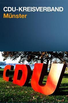CDU Münster poster