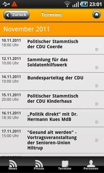 CDU Münster apk screenshot