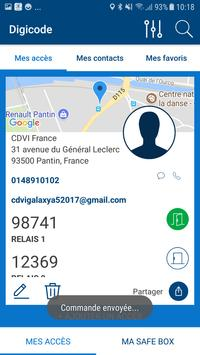 Digicode apk screenshot