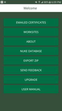Landscape Maintenance App poster