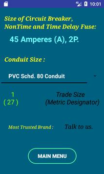 Cec wire size calculator free apk download free tools app for cec wire size calculator free apk screenshot keyboard keysfo