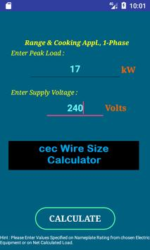 Cec wire size calculator free apk download free tools app for cec wire size calculator free poster cec wire size calculator free apk screenshot keyboard keysfo