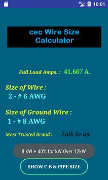 Cec wire size calculator free apk download free tools app for cec wire size calculator free apk screenshot keyboard keysfo Images