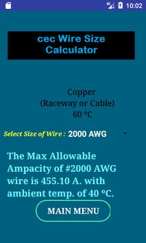 Cec wire size calculator free apk download free tools app for cec wire size calculator free apk screenshot greentooth Gallery