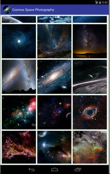 Cosmos Space Photography poster