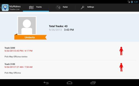 MyWakes apk screenshot