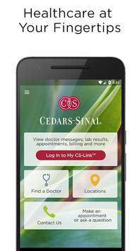 Cedars-Sinai poster