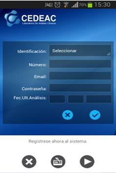 CEDEAC screenshot 1