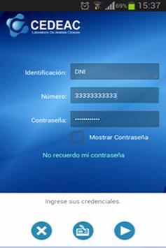 CEDEAC screenshot 2