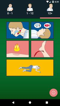 Cederroth First Aid poster