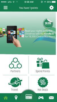 Cedrus Bank Rewards App poster