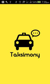 Taksimony poster