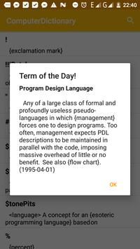 Computer Dictionary: Offline Computer Terms screenshot 1