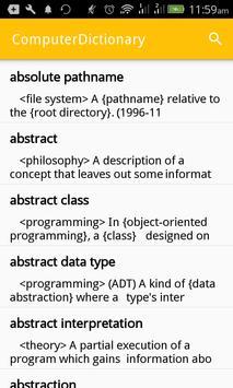 Computer Dictionary: Offline Computer Terms screenshot 2