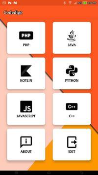 Codedigo screenshot 1