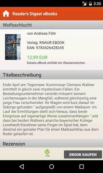 Reader's Digest eBooks apk screenshot