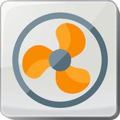 Ceiling Fan Remote Control icon