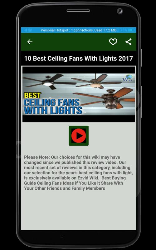 Ceiling fans buying guide apk download free house home app for ceiling fans buying guide apk screenshot mozeypictures Image collections