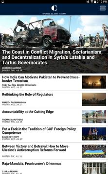 Carnegie Endowment apk screenshot
