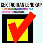 Cek Tagihan Online icon