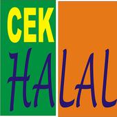Cek info Halal icon