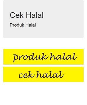 Cek info Halal apk screenshot